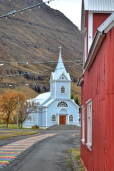 Błękitny Kościół, Seyðisfjörður