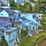 "Kampung Warna-Warni Jodipan - ""kolorowa wioska"", Malang, Indonezja"