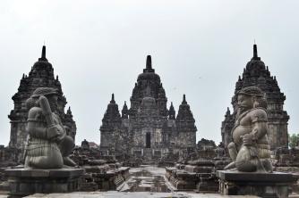 Świątynia Sewu, Yogyakarta, Indonezja